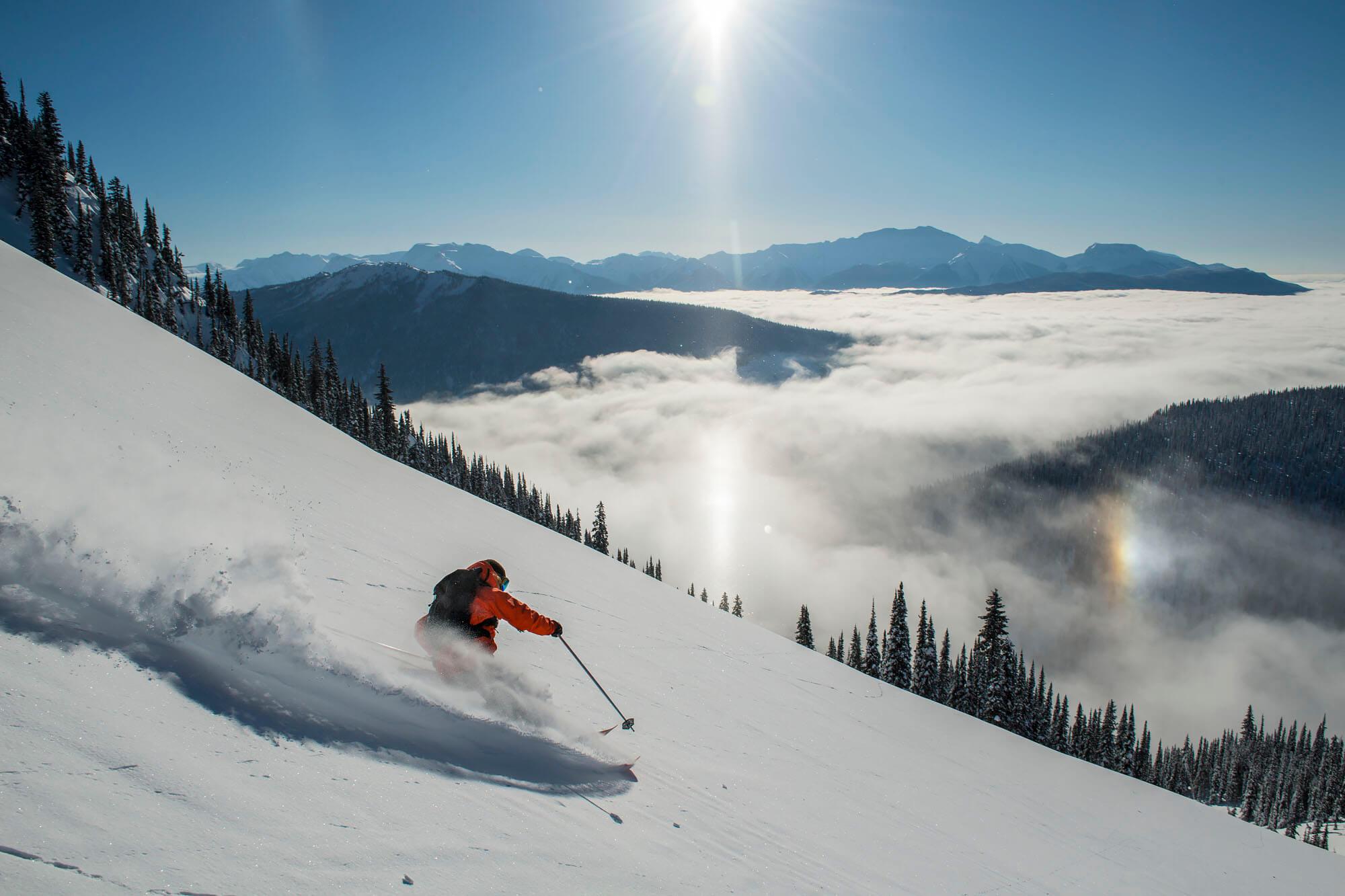heli skier