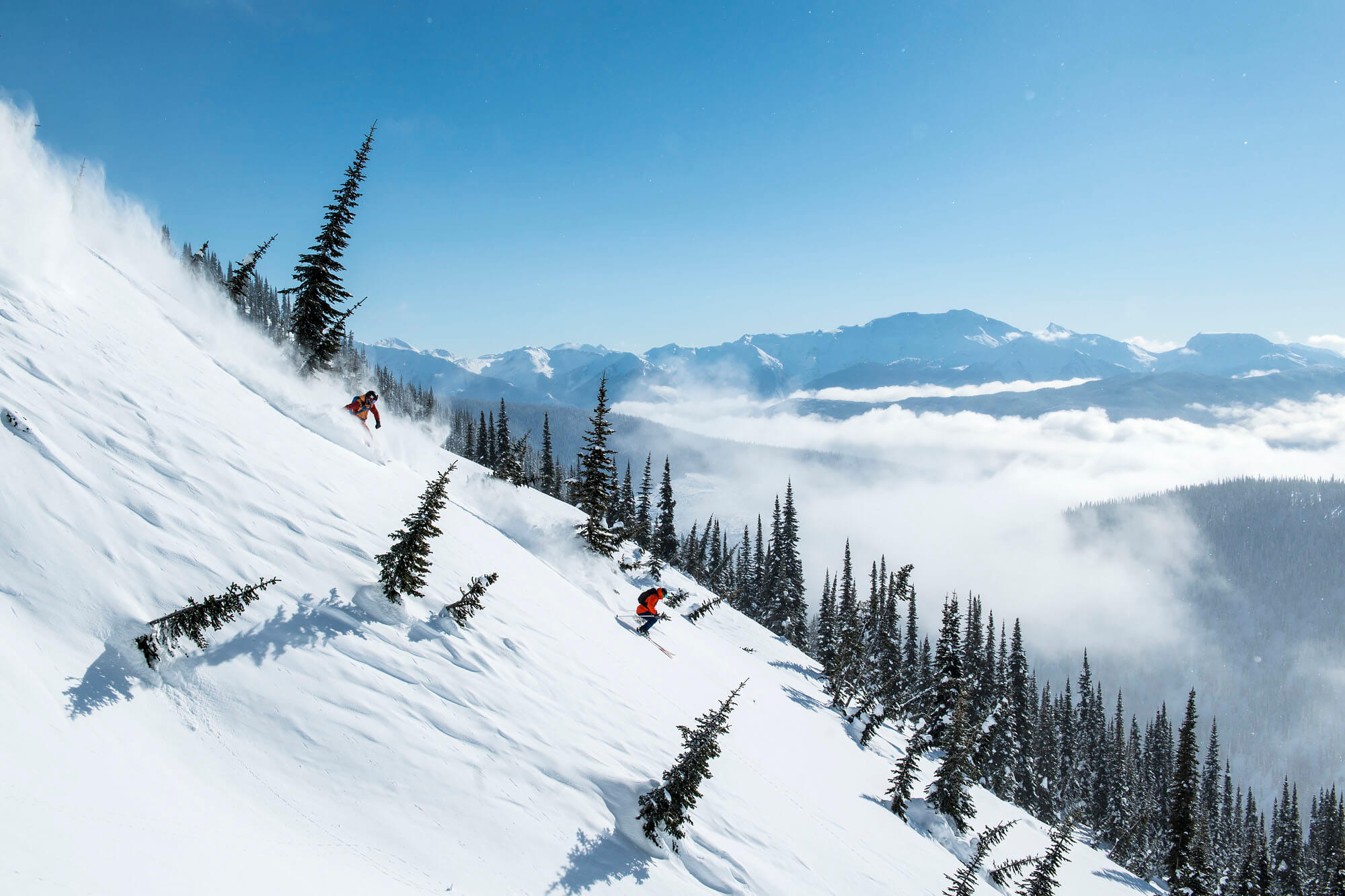 heli skiing bc